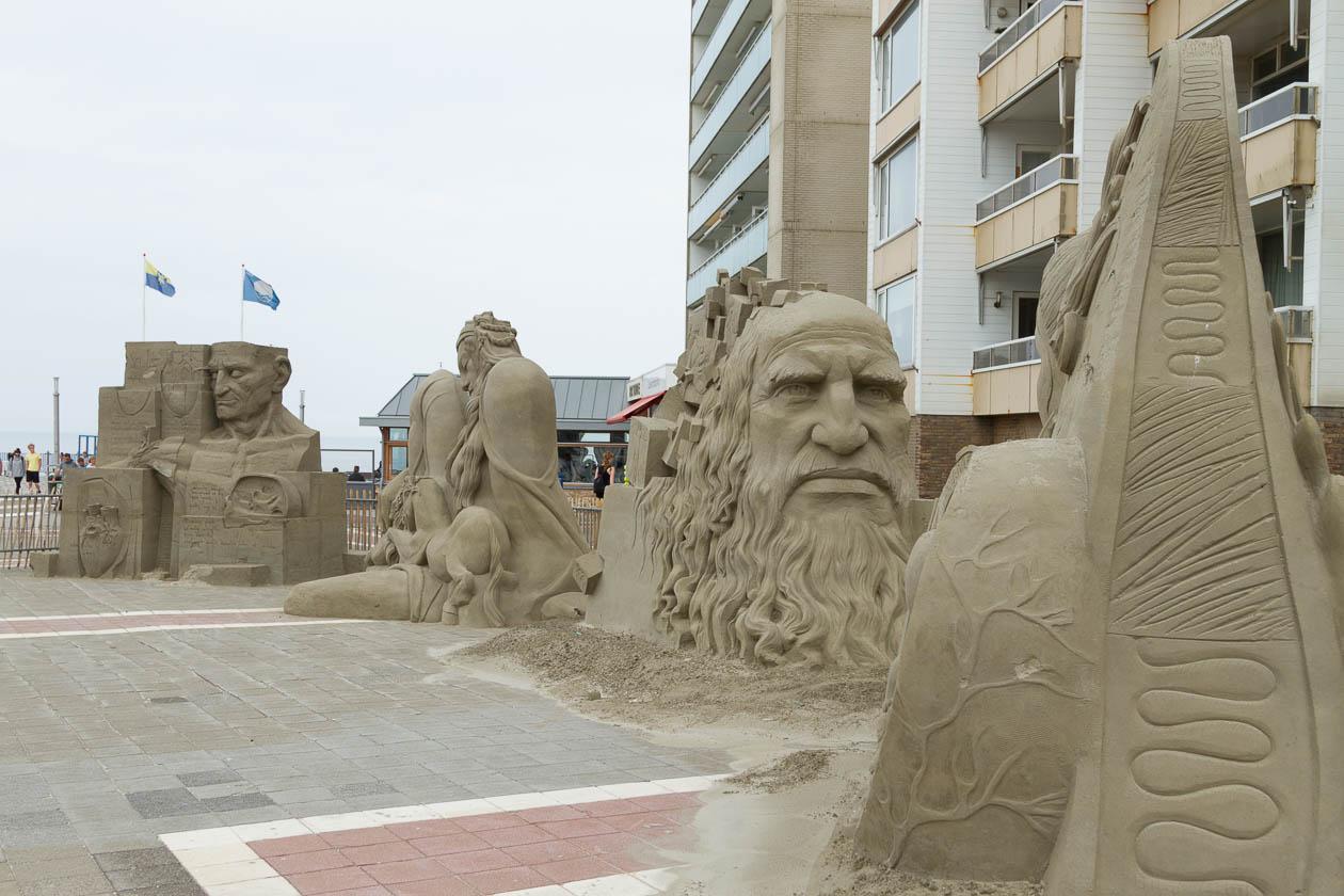 01_Sandskulpturen Zandvoort