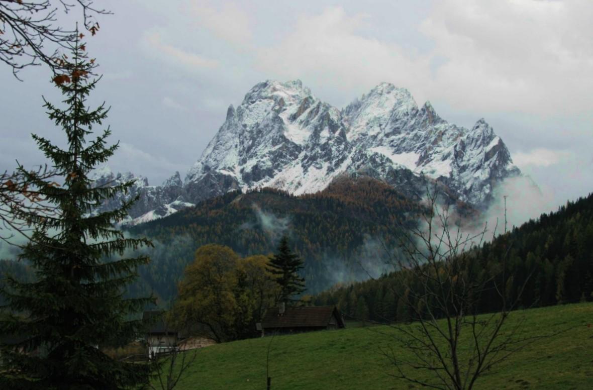 sextener Alpenkulisse