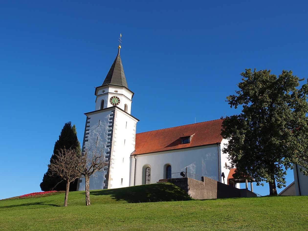 Wehrkirche Aftholderberg (Bernhard Waurick)
