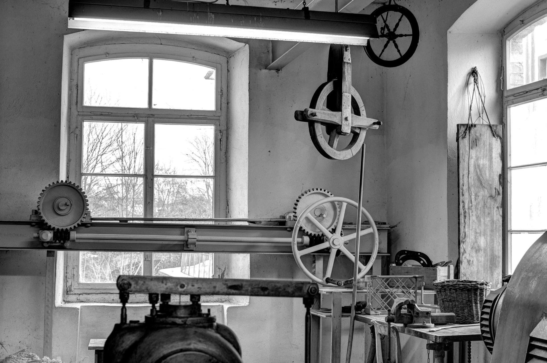 im Maschinenhaus