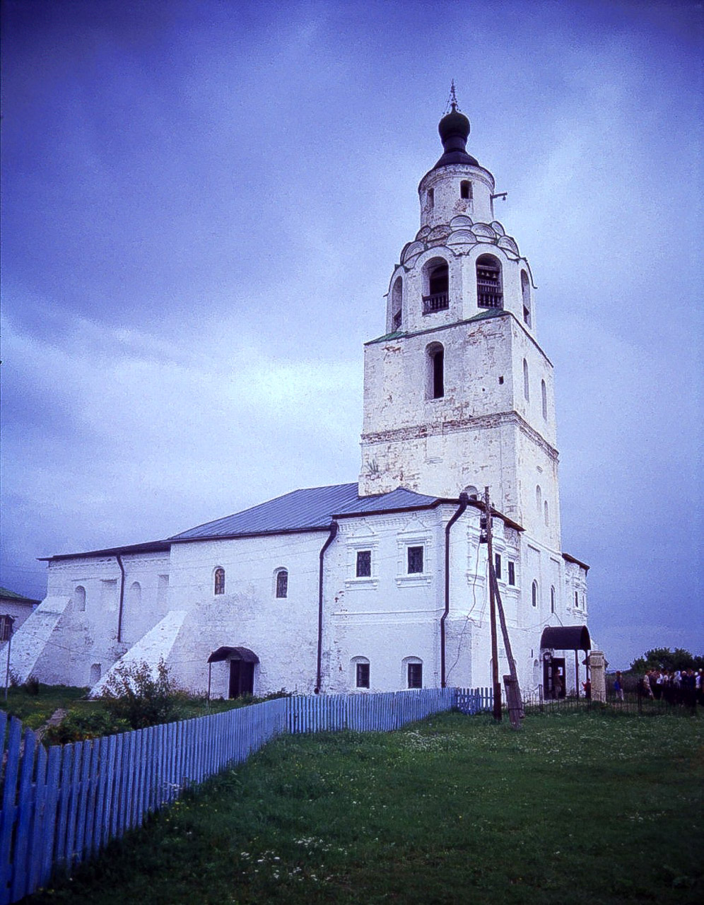 Monastery church in Tartastan, Russia. Wolga. Shot on 35mm Film then scanned. This was shot in August, 2007