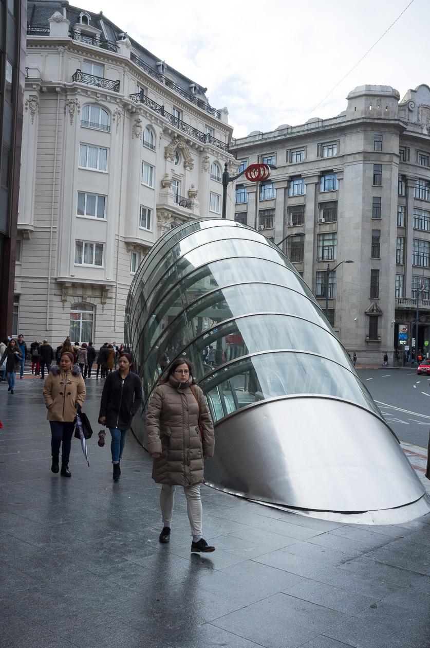 "Metroeingang ""Fosterito"""