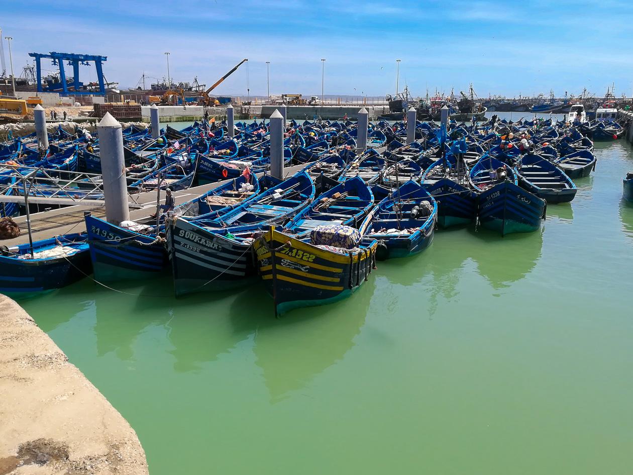 Der Hafen von Essaouira