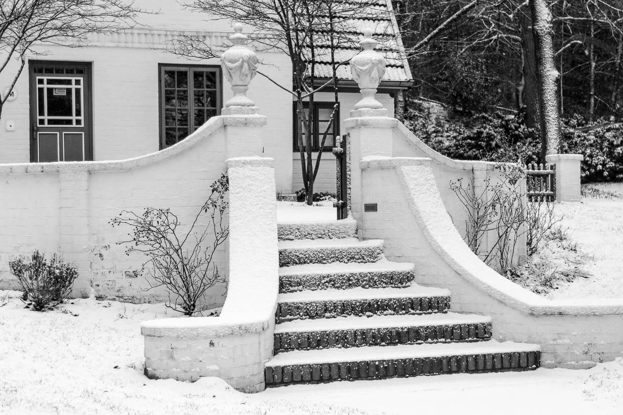 Treppe zum Garten des Barkenhoff