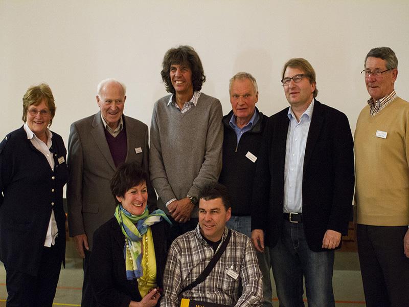Vostand mit M. Martin und A. Mende