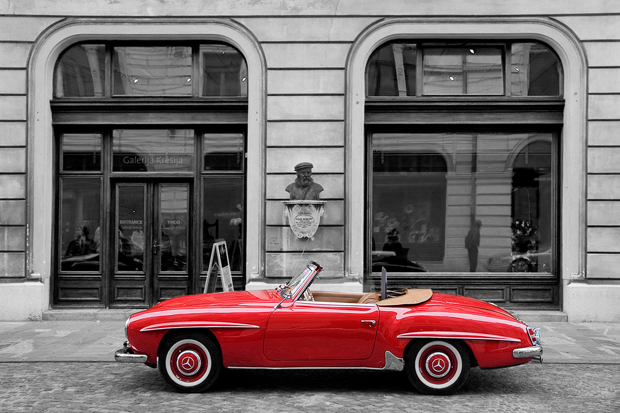 red car (Dieter Herrmann)