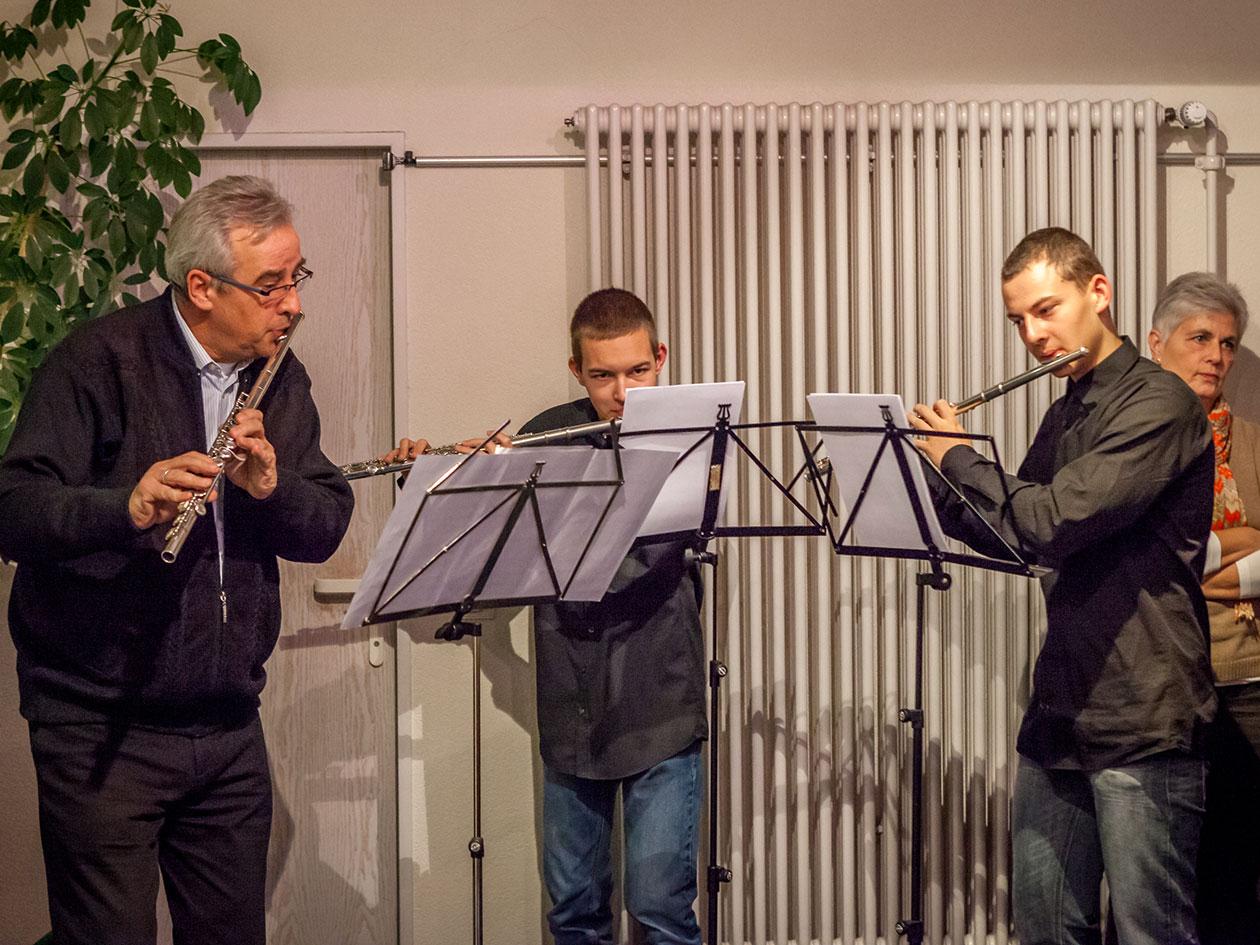 Abordnung der Musikschule Uhldingen-Mühlhofen