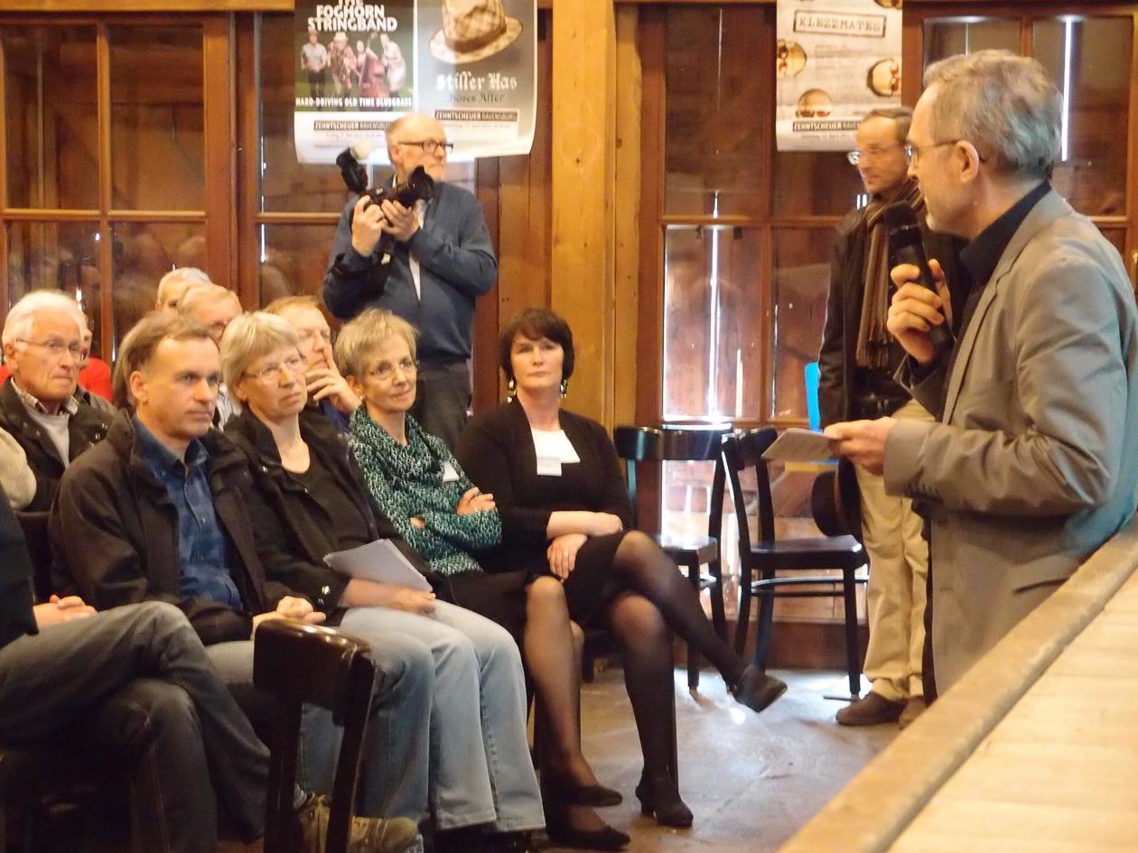 Begrüßung durch Dr. Schwarzbauer, Stadt Ravensburg