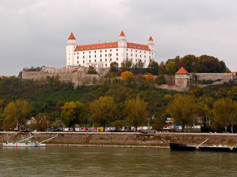 Burg in Bratislava