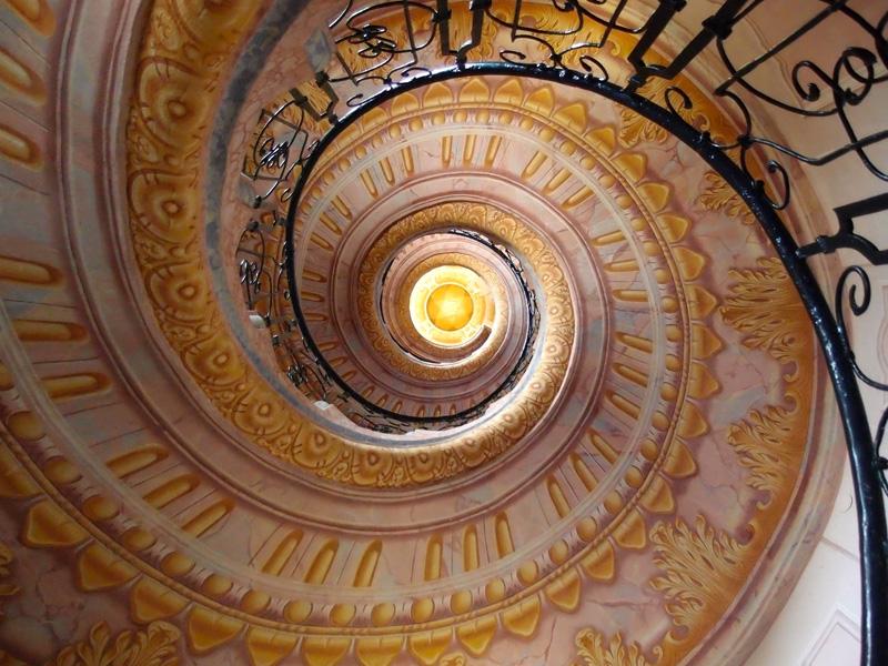 Treppe im Benediktiner Stift Melk