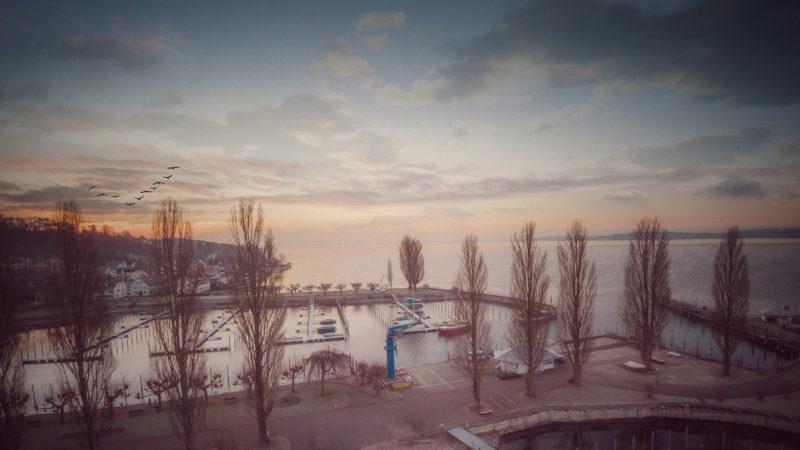 Morgenstimmung am Uhldinger Hafen