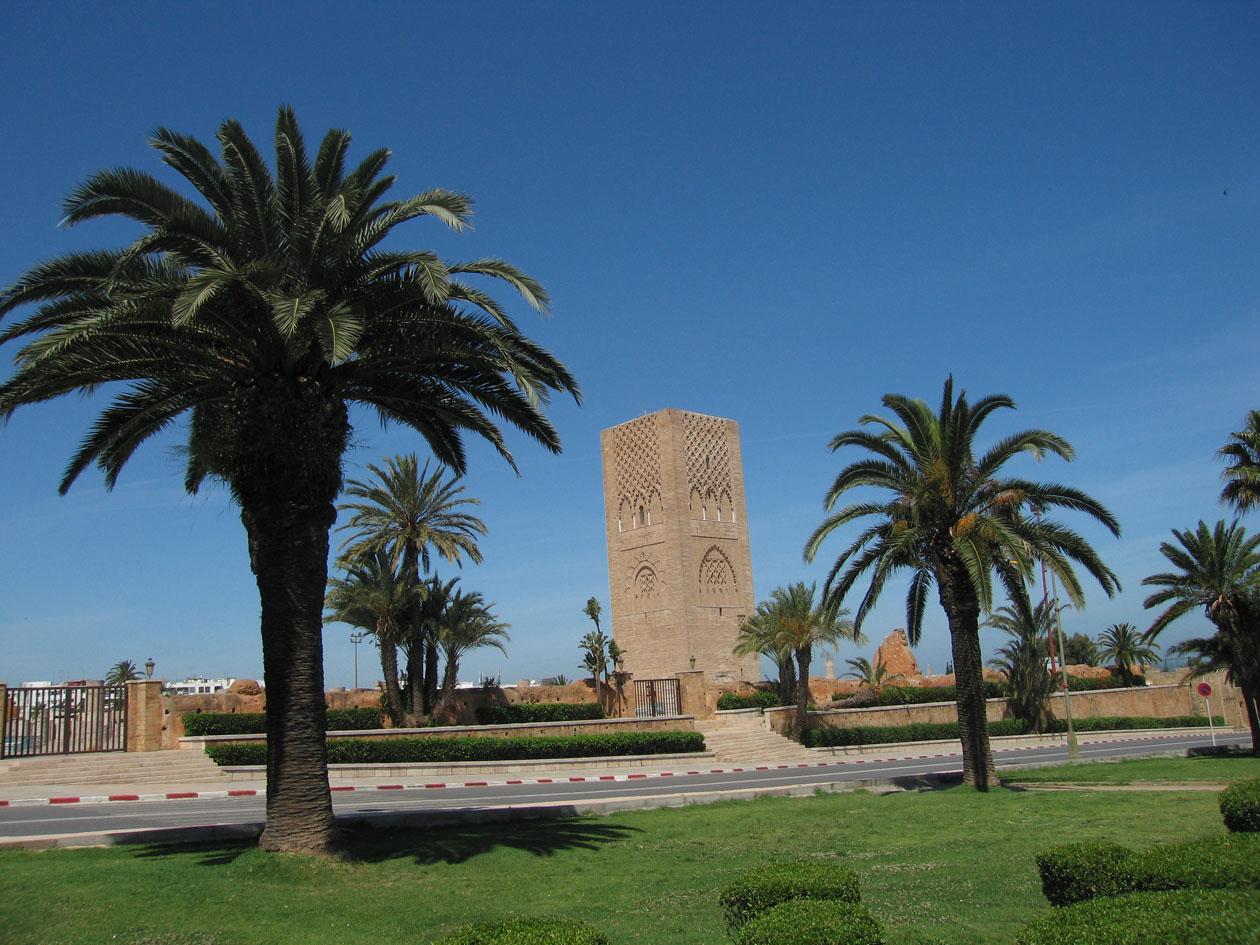 Der Hassan-Turm in Rabat