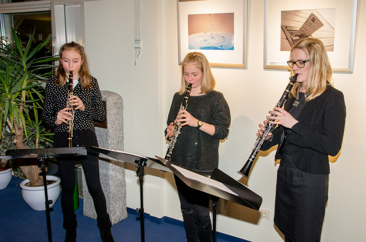 Klarinettentrio der Musikschule