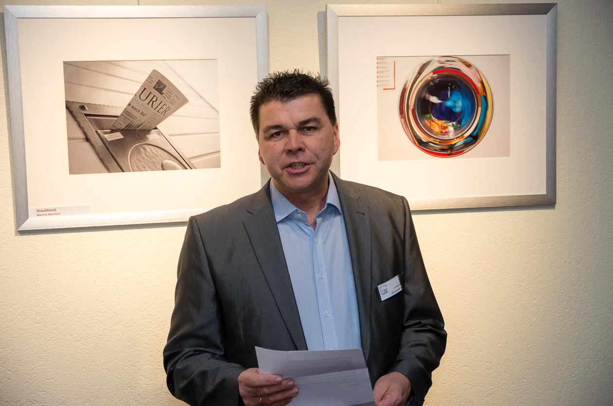 Begrüßung durch den 1. Vorsitzenden Uwe Neumann