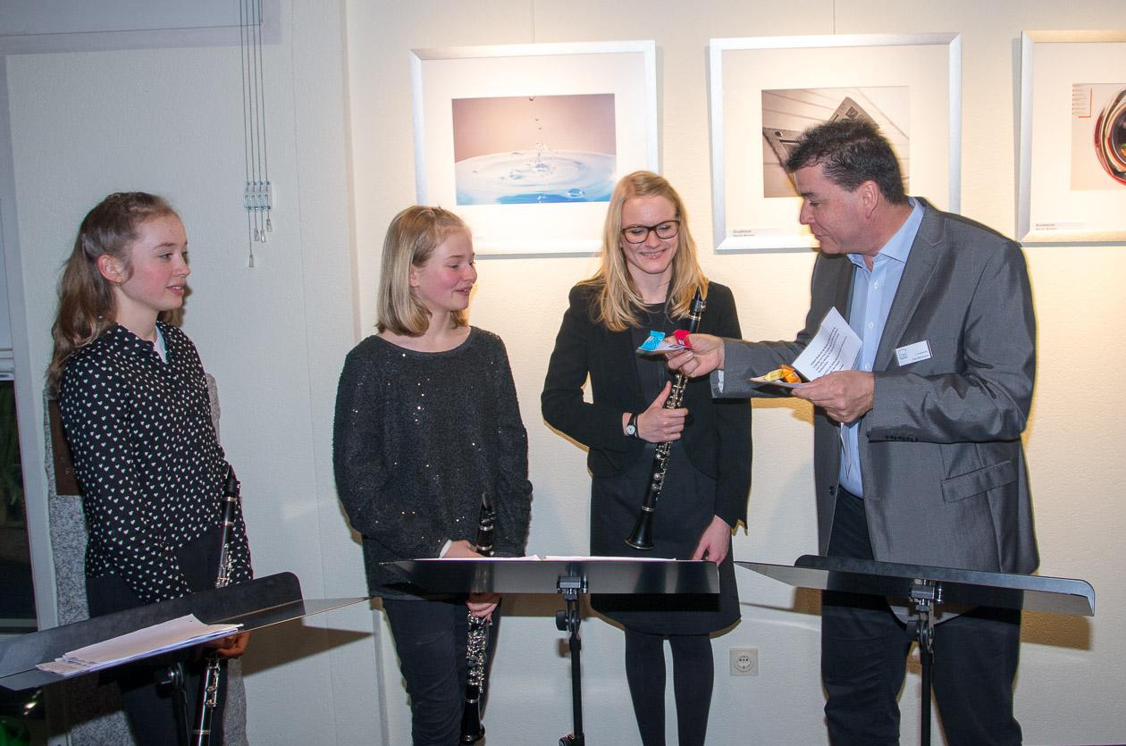 Ein Dankeschön an Lina Dietrich und Lydia Häring