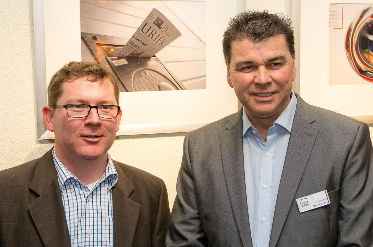 Norman Zieger und Uwe Neumann