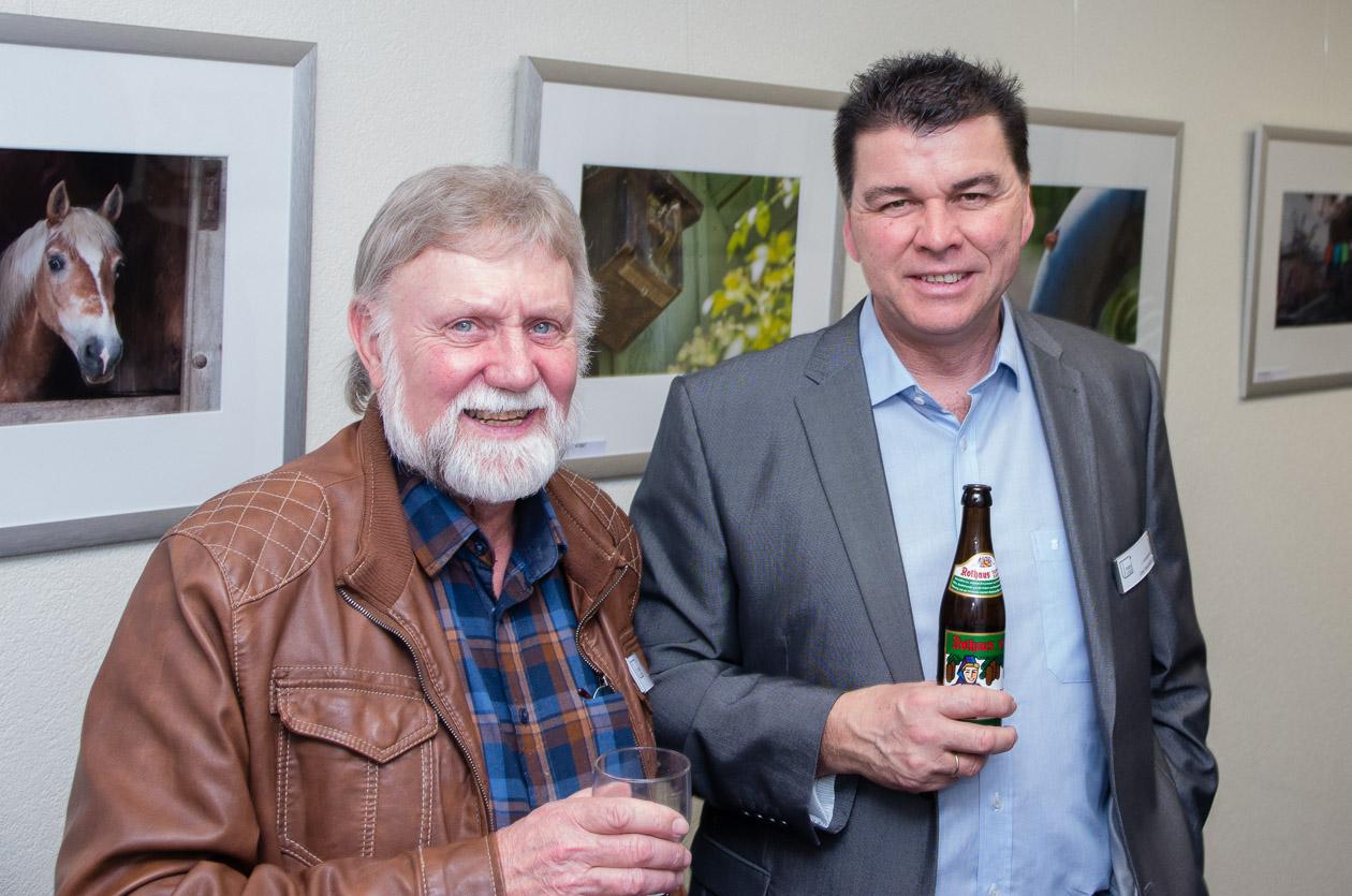 Norbert Sand und Uwe Neumann