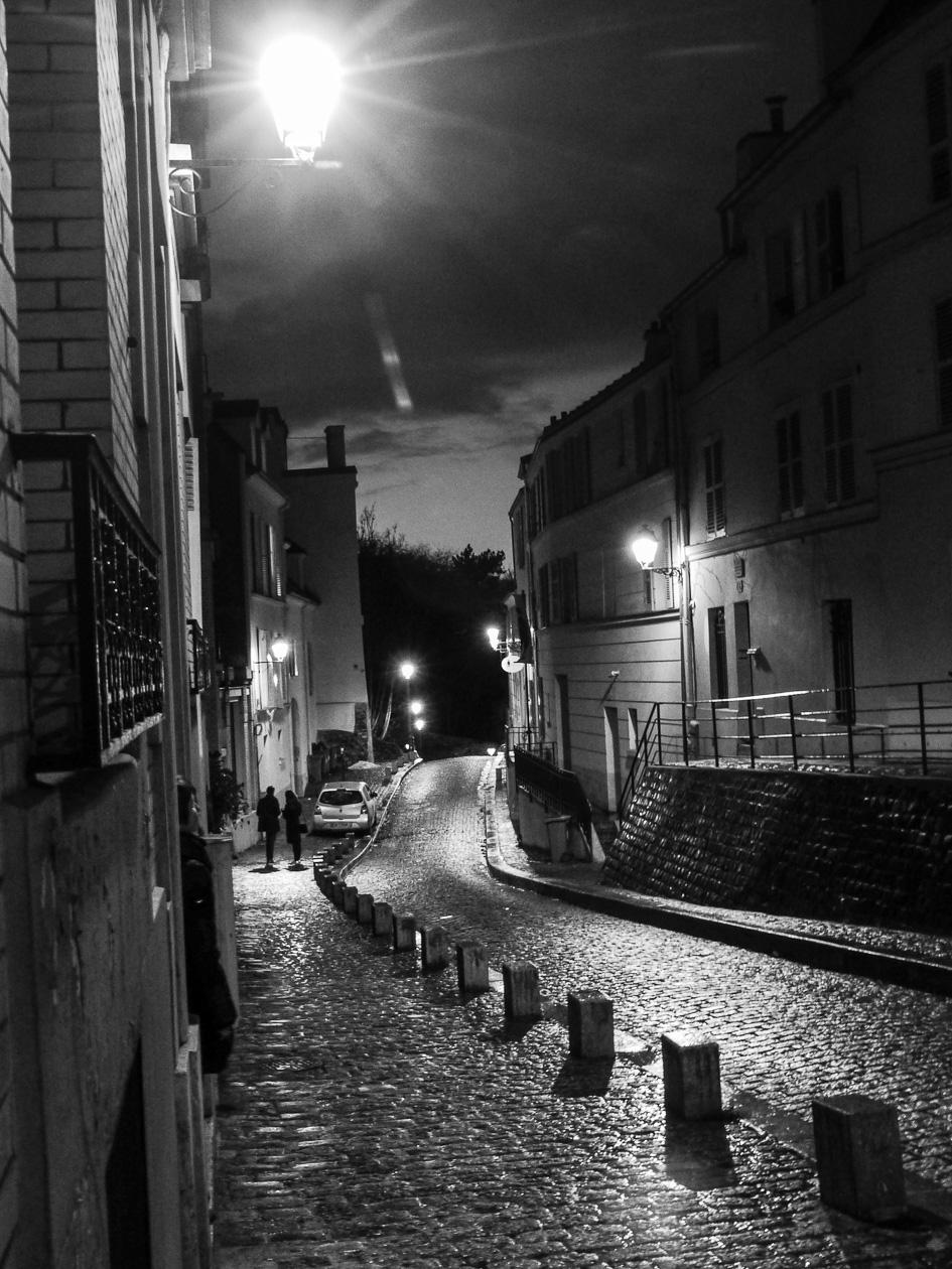 Nacht in Montmatre