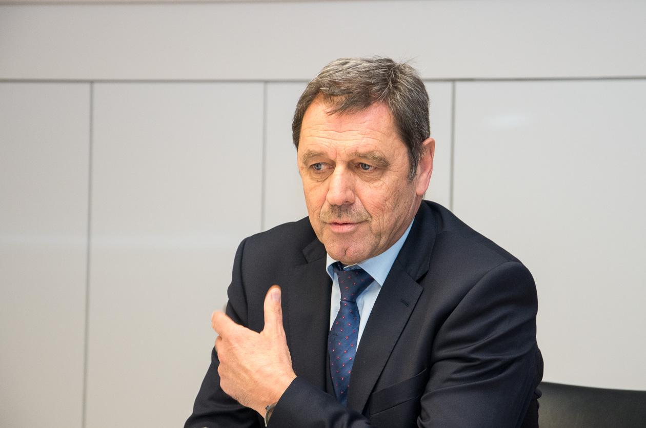 Josef Knäple, stv. Vorstandsmitglied der SPK Salem-Heiligenberg