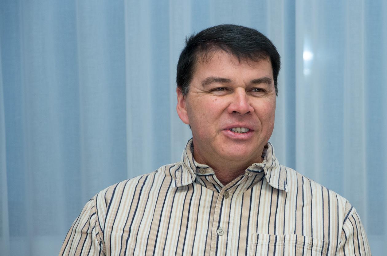 Uwe Neumann, 1. Vorsitzender des Fotoclubs