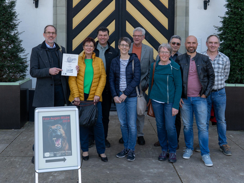 Die Vertreter des Fotoclubs Uhldingen in Kißlegg