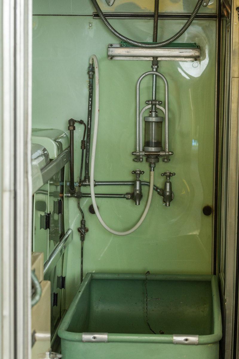 Duschen wie auf dem U-boot