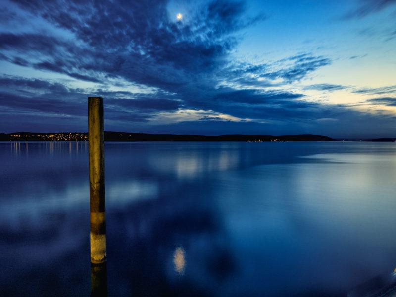Die Magie der blauen Stunde