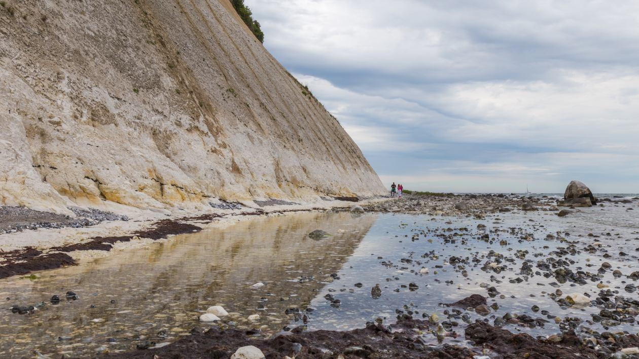 Kreideküste am Kap Arkona