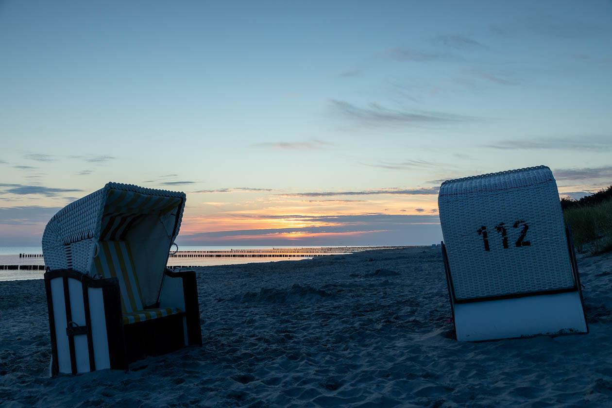 Strandkorb mit Notrufnummer?