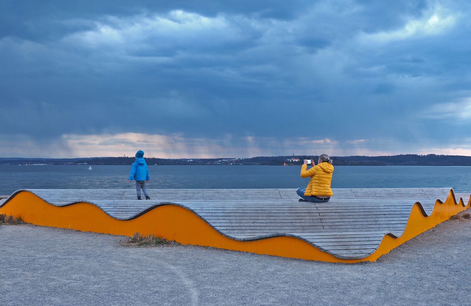 Sturmwarnung Foto:Bernhard Waurick