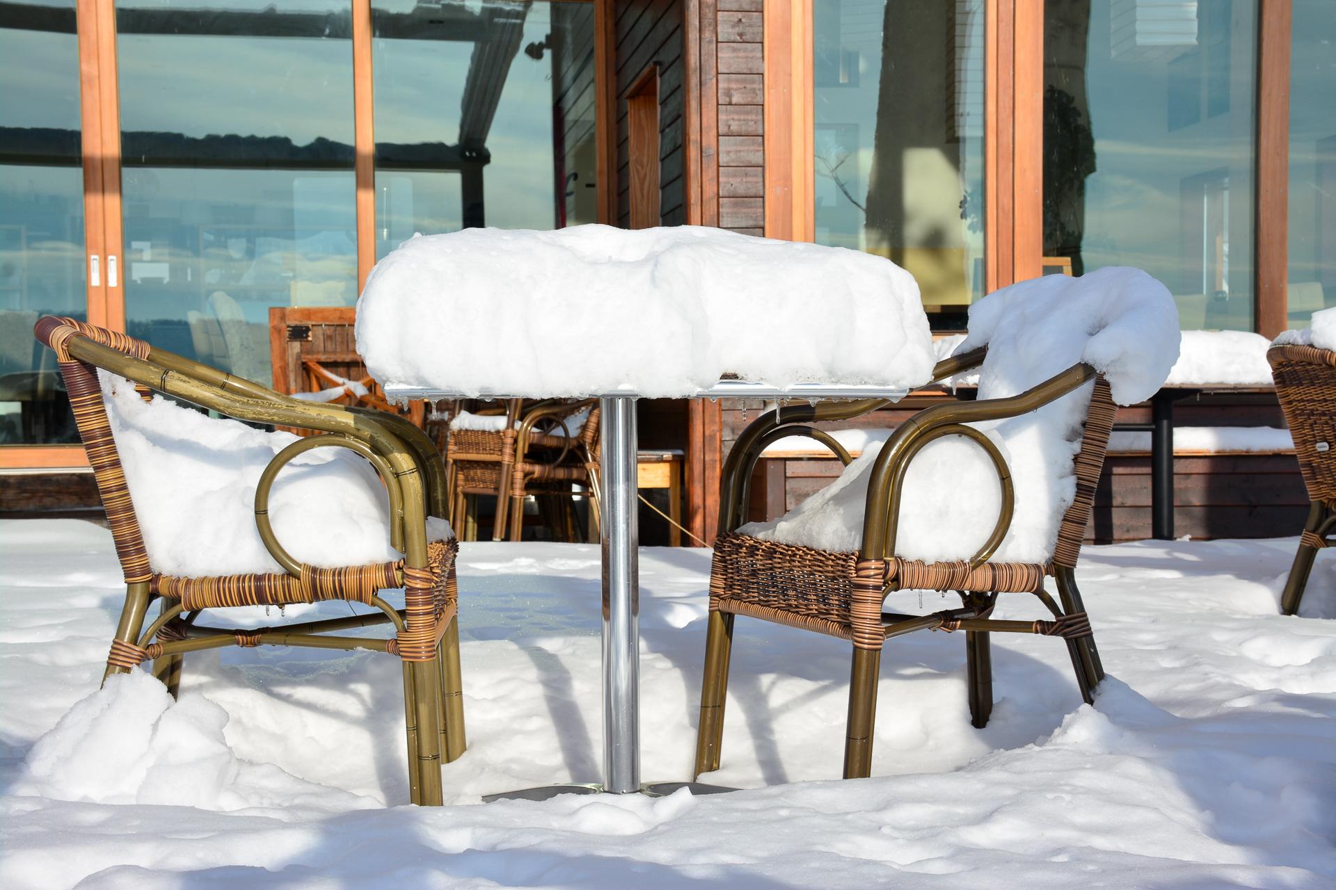 Schnee im Dialog Foto: Michael Schnurr